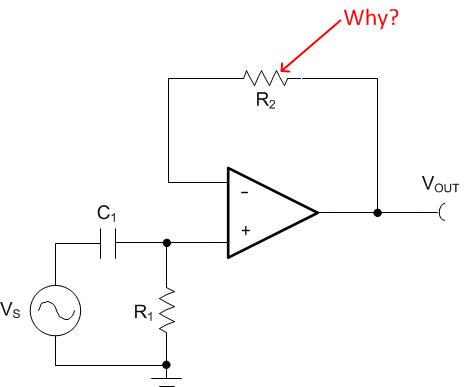 resistors in the feedback of a buffer ask why precision hub rh e2e ti com