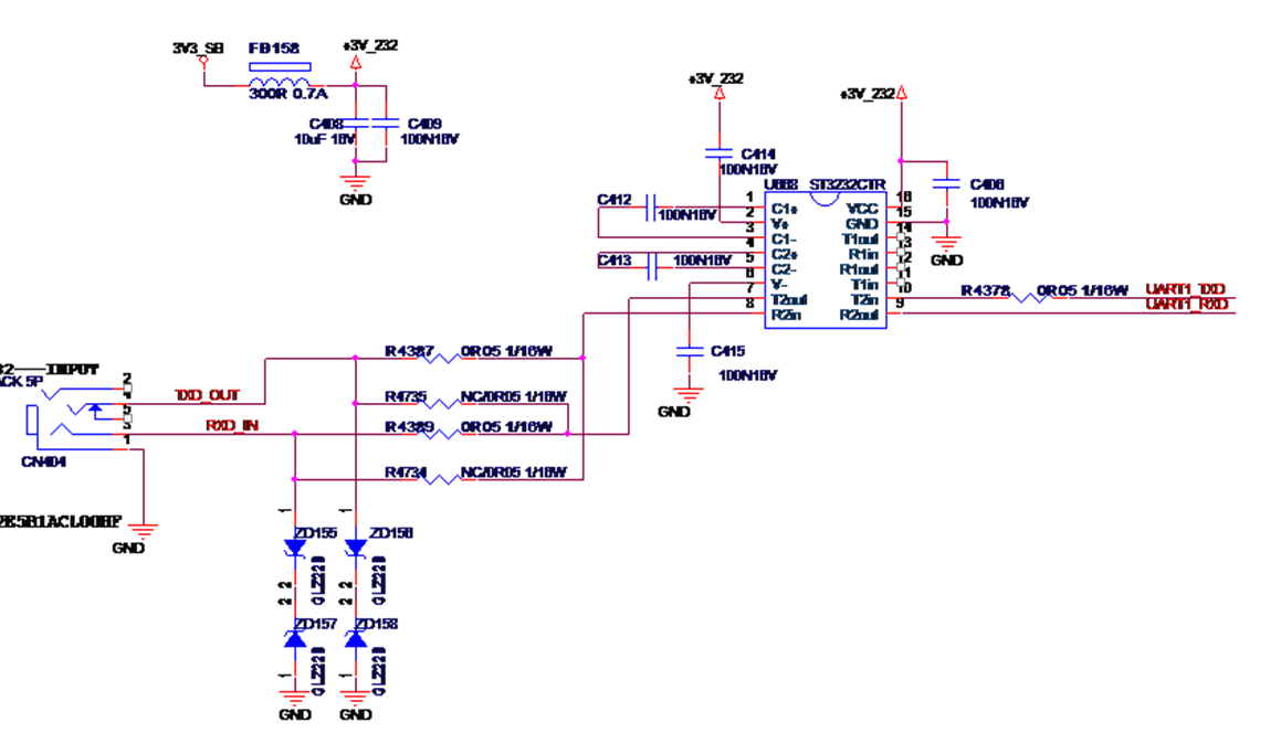Max3232 Asking For The Abnormal Waveform Interface Forum Polarity Switch Element14