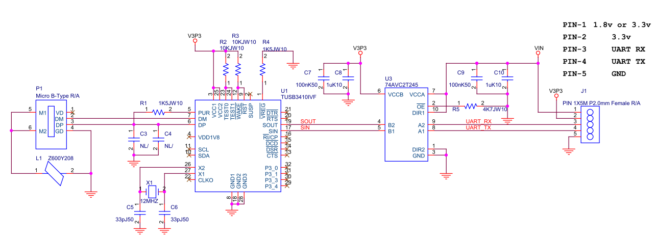 Resolved] About TUSB3410 EVM circuit - Interface forum - Interface