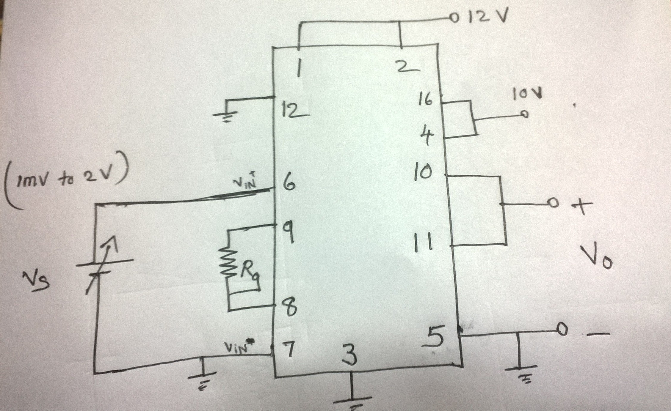 Resolved Ina 125 Simple Circuit Diagram Amplifiers Forum Draw Out The For This We Got Reference Supply 10vplease Help Us What Is Problem