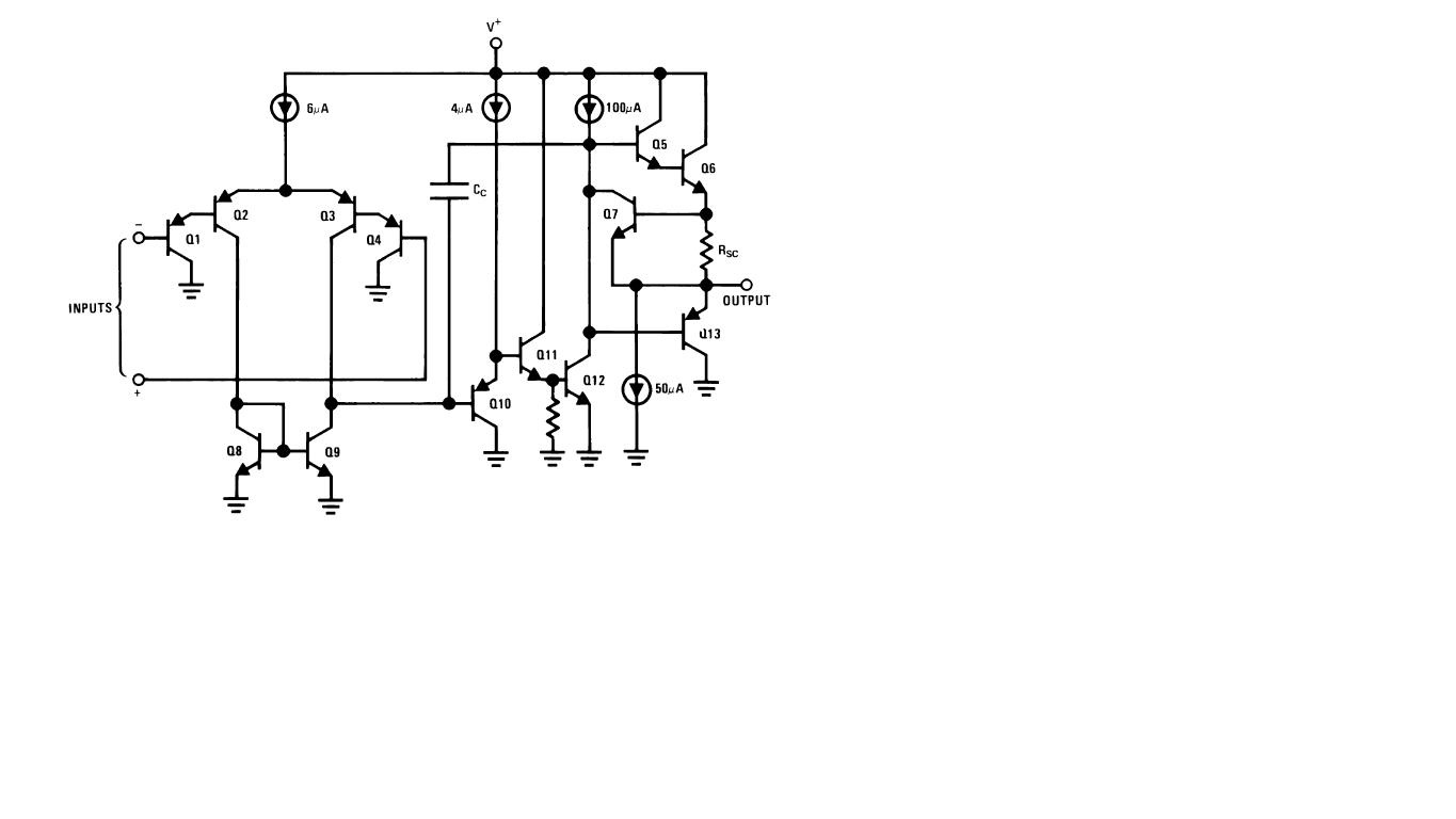 operational amplifier lm124