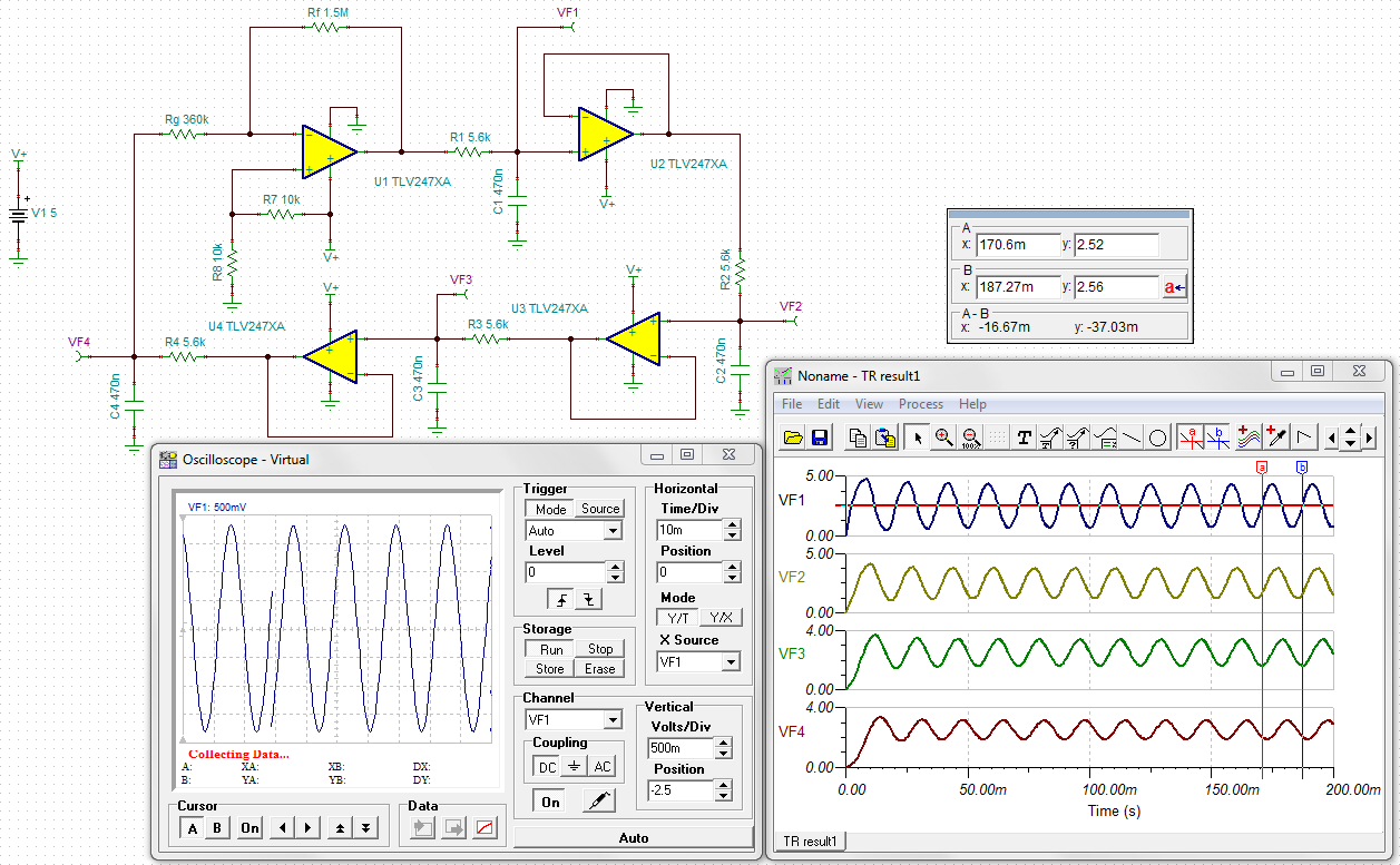 resolved] bubba oscillator with tlv2474 amplifiers forumthe information you have provided me is enough for making the circuit to function, but it would be quite a great help if you could elaborate on the role
