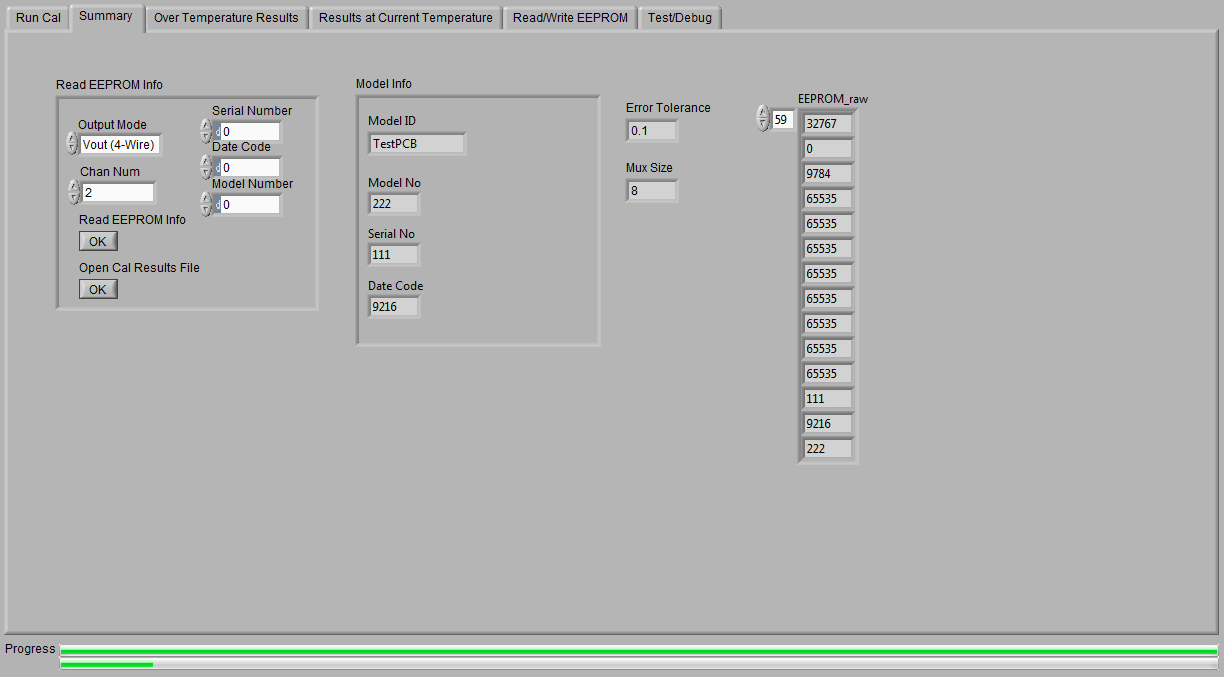 pga309 unable to read eeprom in extended address locations  0 thru 122 is ok