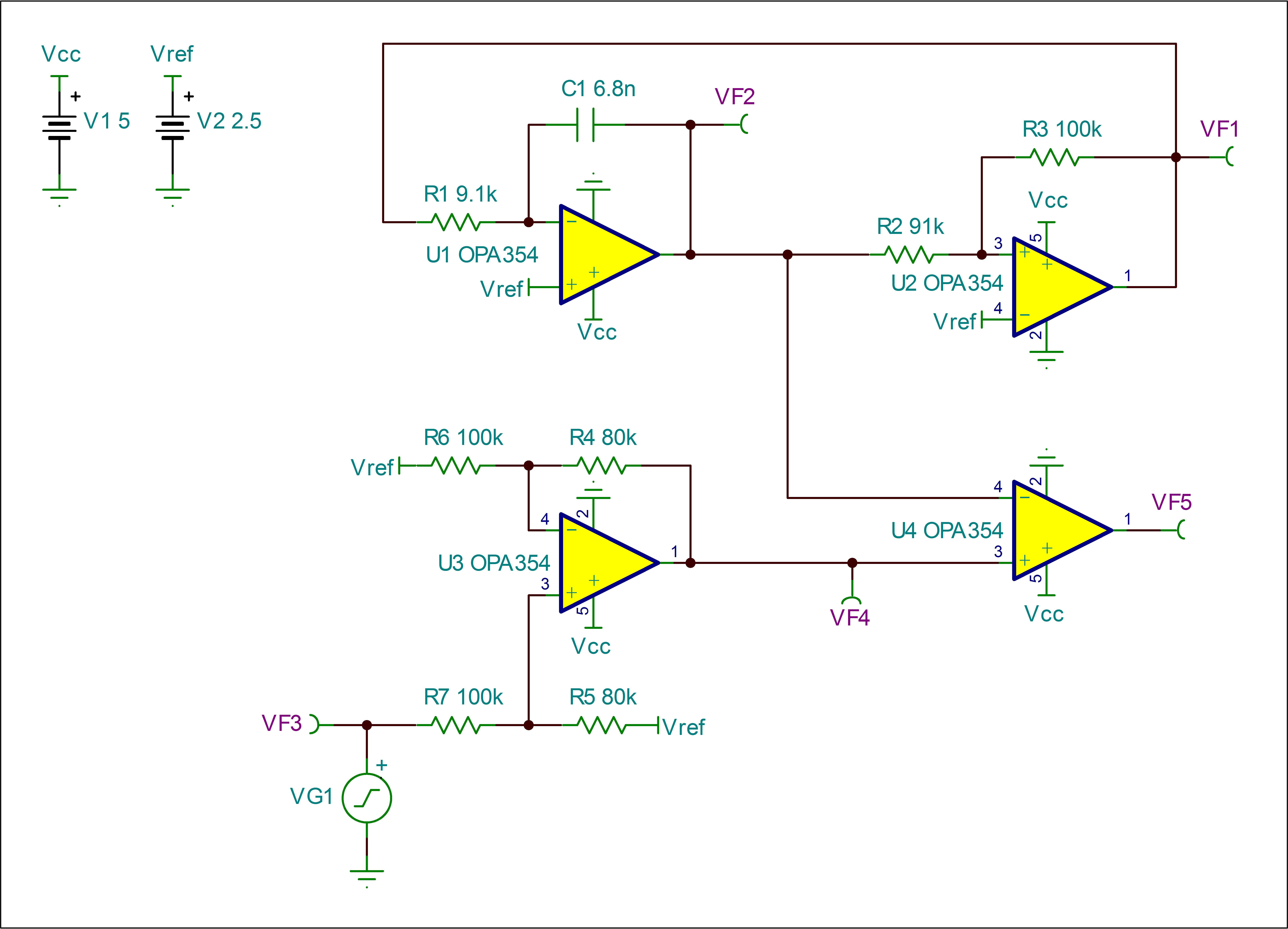 Op Amp As Comparator Circuit With This The Resolved Iso5500evm Interface Forum Ti E2e Community