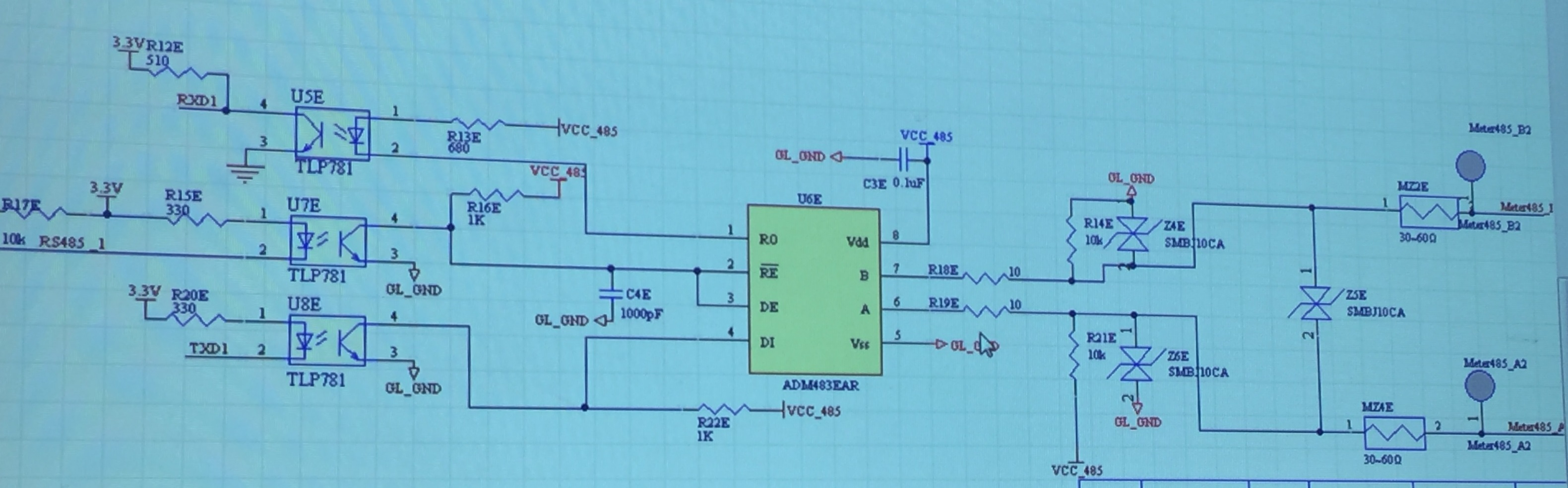 RS485 to replace Max13085 - Industrial Interface Forum - Industrial ...