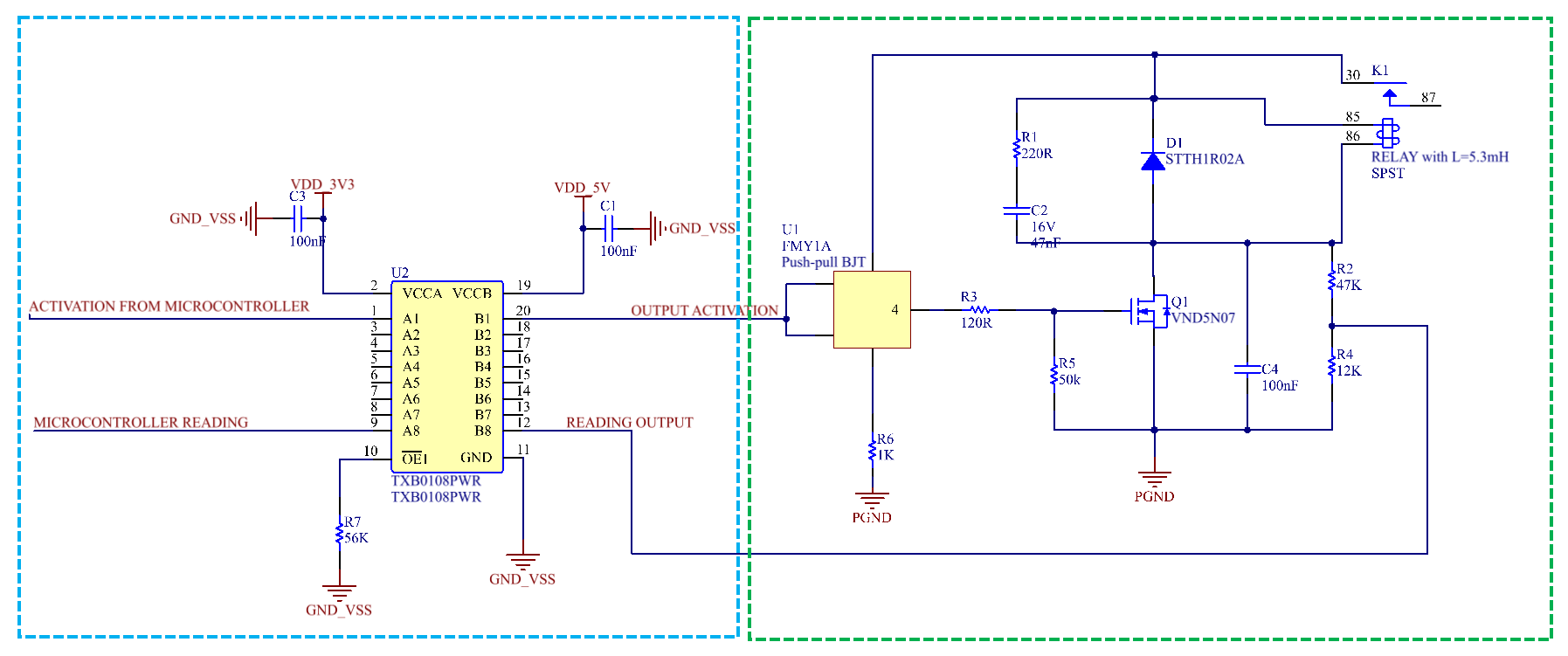 Txb0108 Reading Ttl Levels From Voltage Divider Logic Forum Use Ofvoltage Dividers Often Times You Will See It Would Be Really Helpful To Receive Some Help Thanks In Advance
