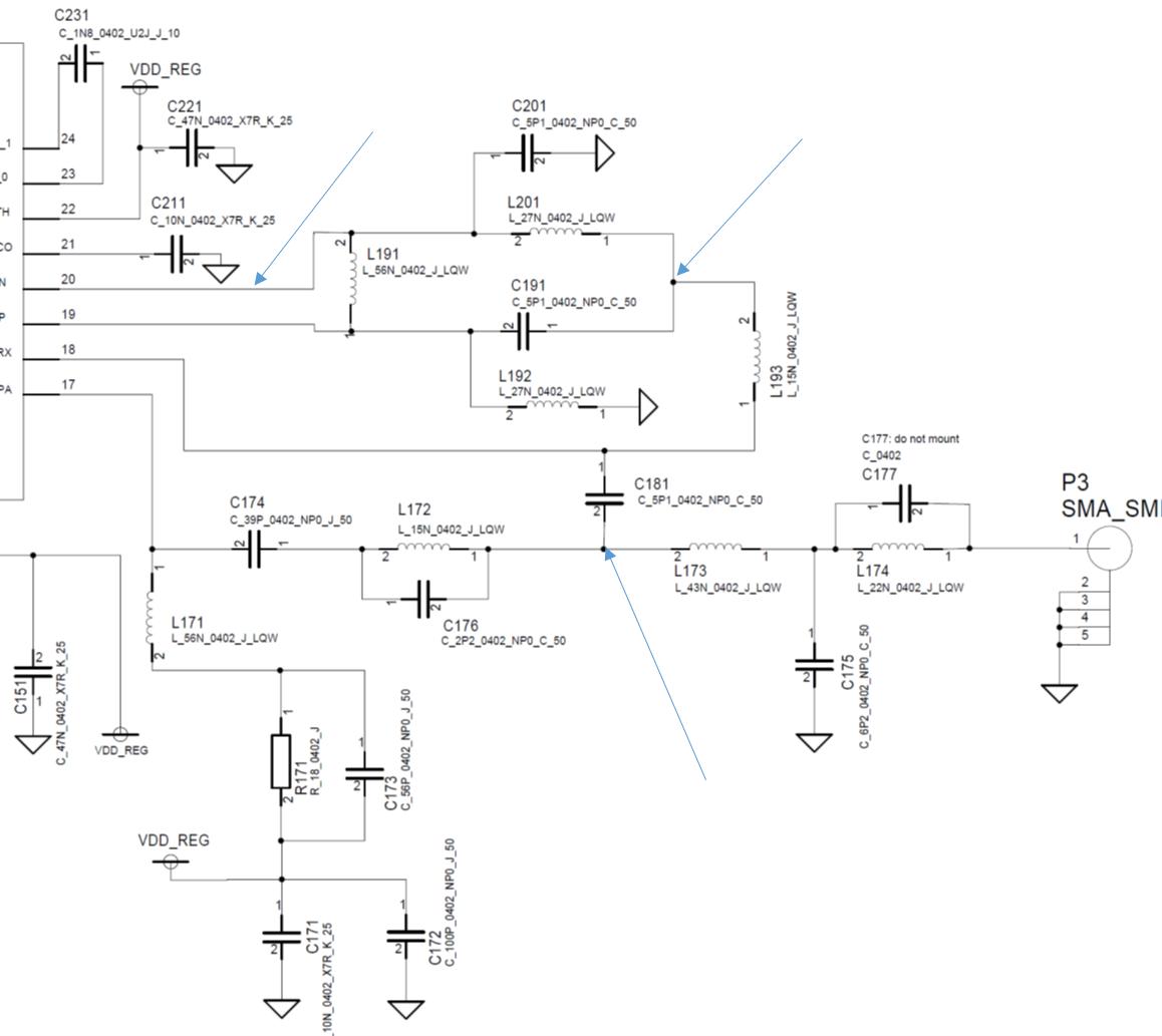 Resolved Cc1120 Lna Matching Other Wireless Technologies Forum Cessna 172 Engineering Schematics Ti E2e Community