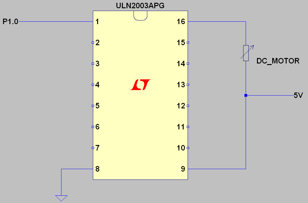 G2553 and uln2003 to drive dc motor msp low power for 3v dc motor datasheet