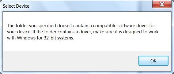 Descriptor Tool - making correct driver - MSP low-power