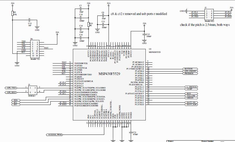 resolved  msp430f5529 avcc1 decoupling capacitor - msp low-power microcontroller forum