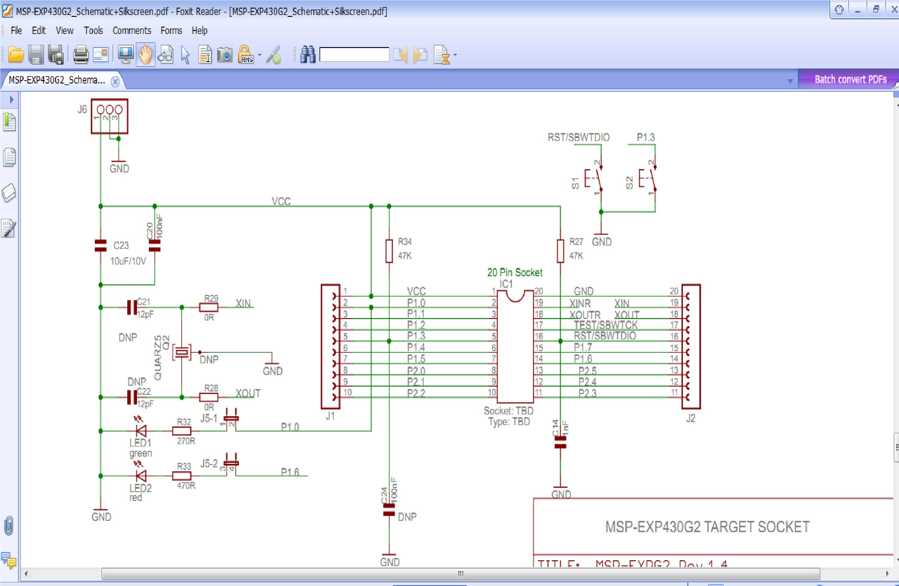Msp430g2553 - Msp Low-power Microcontroller Forum