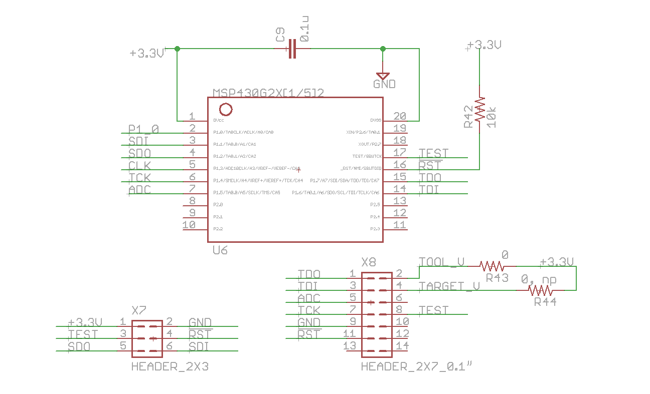 Resolved Cant Program Msp430g2553 Using Fet430uif Msp Low Power X8 Wiring Diagram I Am Not Supplying To The Board In Any Way Other Than Connecting Programmer Connector