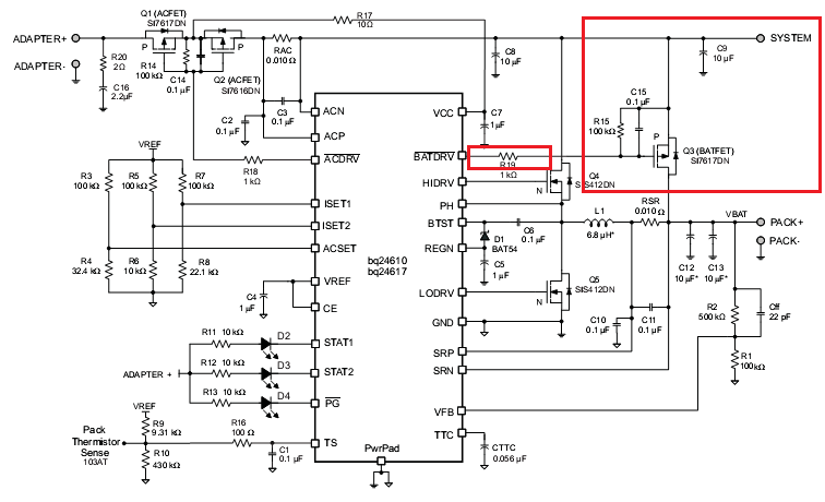 resolved  int-bq24610  system path remove - battery management - chargers forum