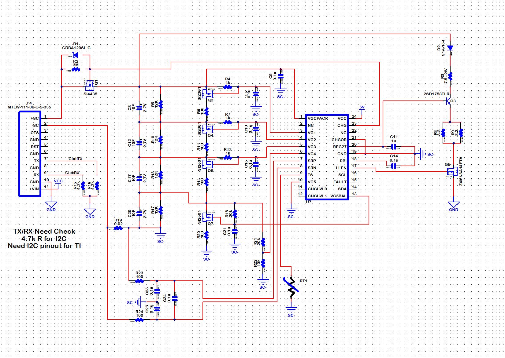 bq33100 4 cell questions battery management gas gauge. Black Bedroom Furniture Sets. Home Design Ideas