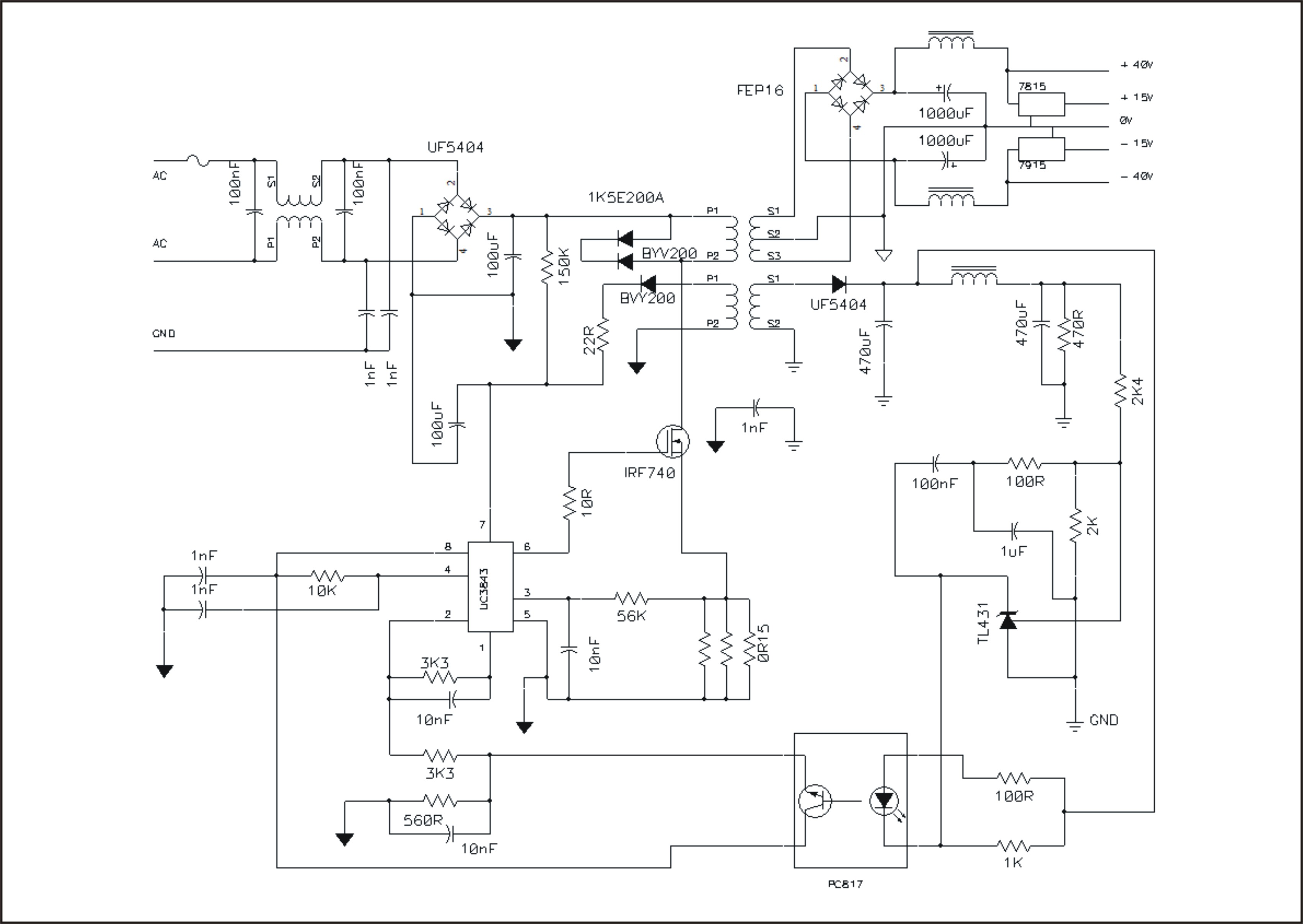 Search moreover Plc Based Multichannel Automatic Liquid Level Controller in addition Multiple PSUs Share Load together with Samsung Bn96 0b Lcd Tv Smps Schematic moreover Lg Lst 3510a Set Top Box Circuit Diagram. on smps circuit diagram
