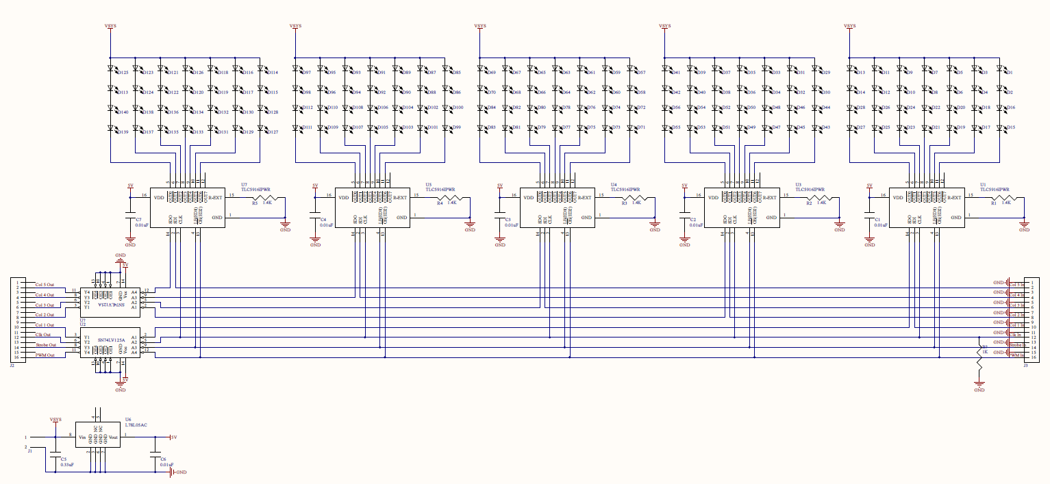 Singlesidedschematic on Simple Led Driver Circuit