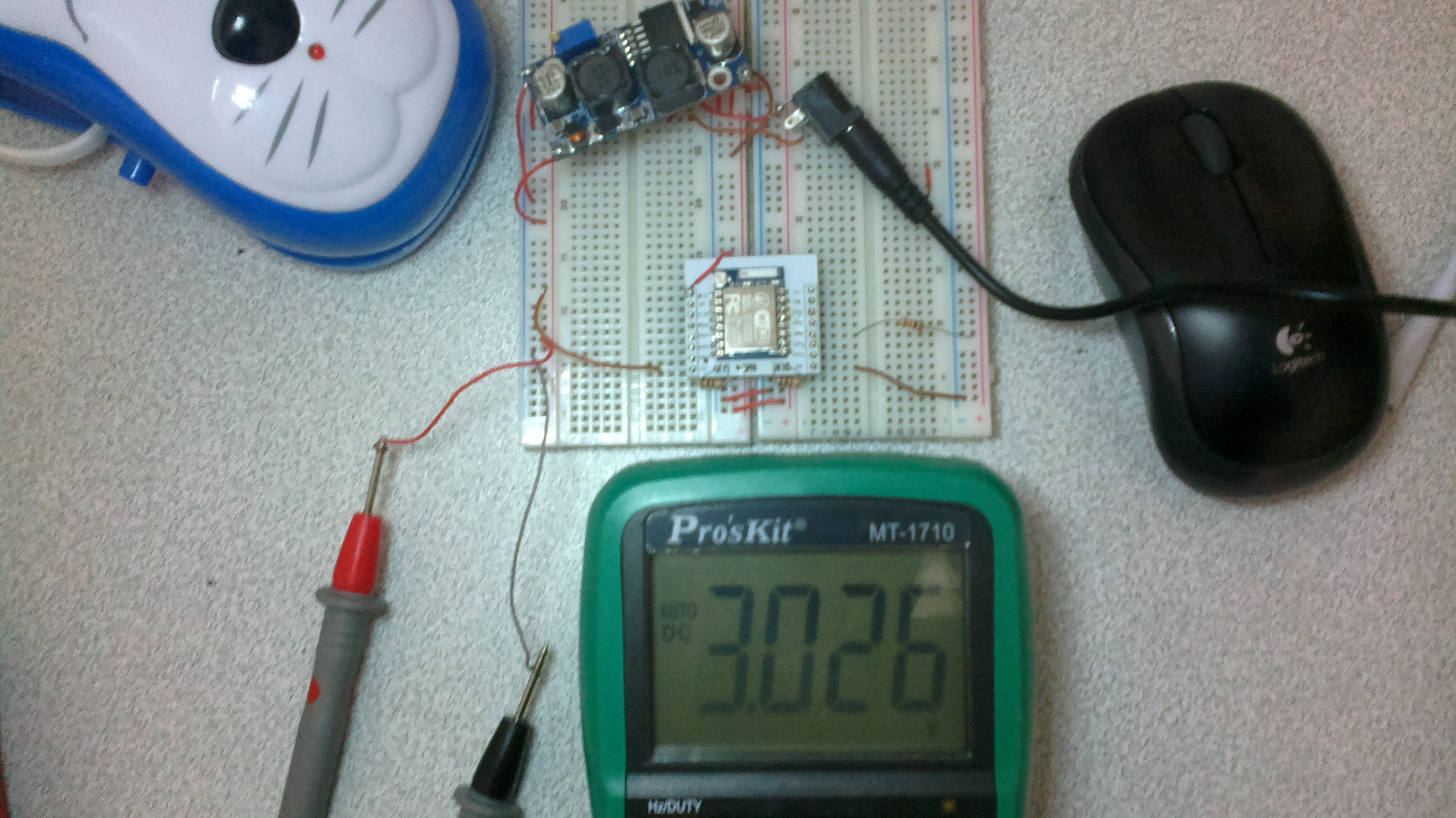 Resolved Voltage Drop Of Lm2577s Supply Power Management Forum Switching Regulators Using Lm2575 And Lm2577 Last Question Is Related To Bottom Two Picturethis Breadboard V Gnd Connected Each Other I Just Changed Multimeter