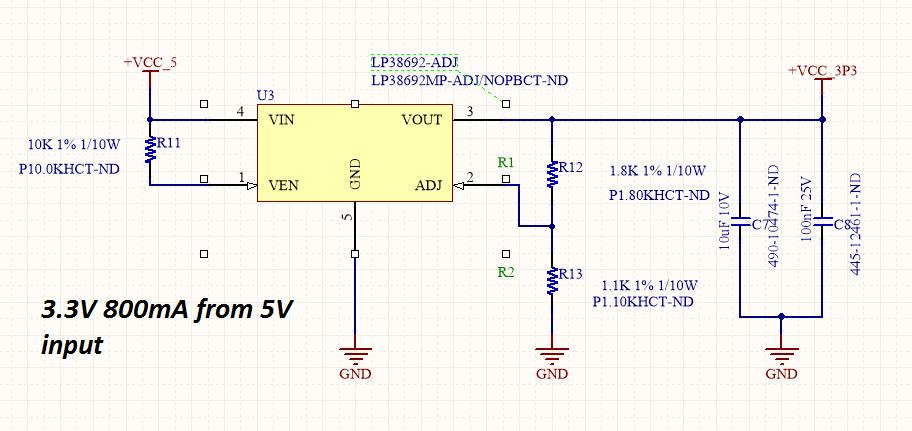 lm2678 problem cascading lm2678 and lp38692 adj power management