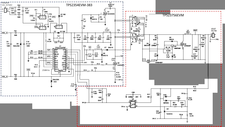 resolved tps23754 schematic for vout 5v power management forum rh e2e ti com