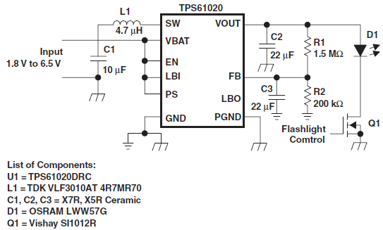 Resolved] TPS61020 for PWM dimming LED driver application - Power