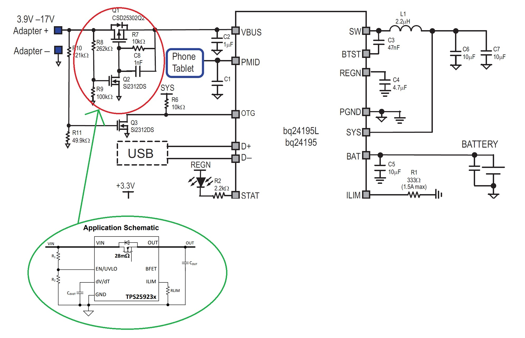 Resolved Bq24195 Inrush Limiting Circuit Requirement Power Current Mahesh