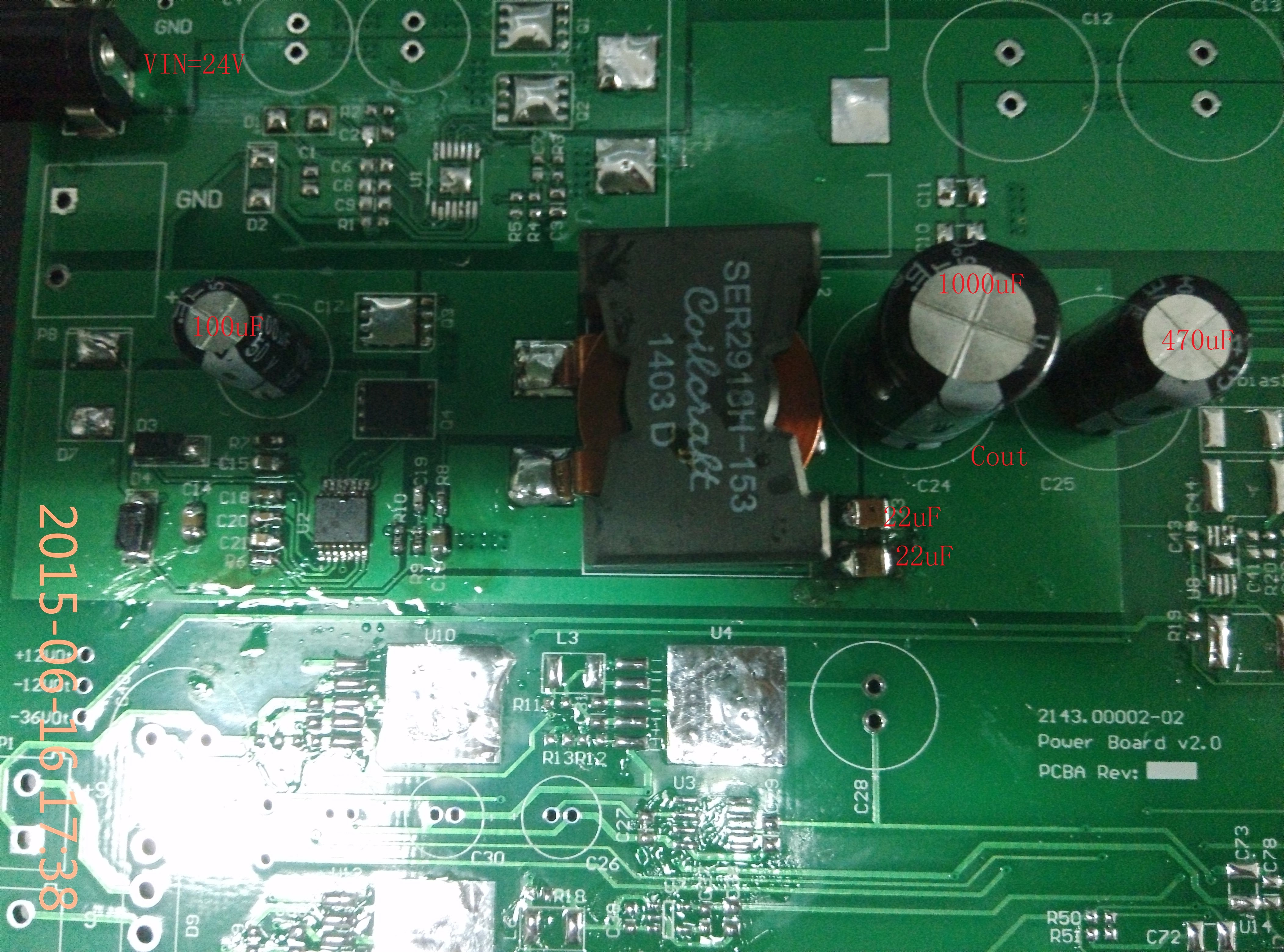 Lm3150 Output 5v10a Load A Resistor Of 1r Then The Upper Mosfet Power Supply Non Isolated Dc Forum Ti E2e Vin So My Question Is What Cause Q3s Broken And Can I Do Next For 5v010a Circuit Thank You Your Reply