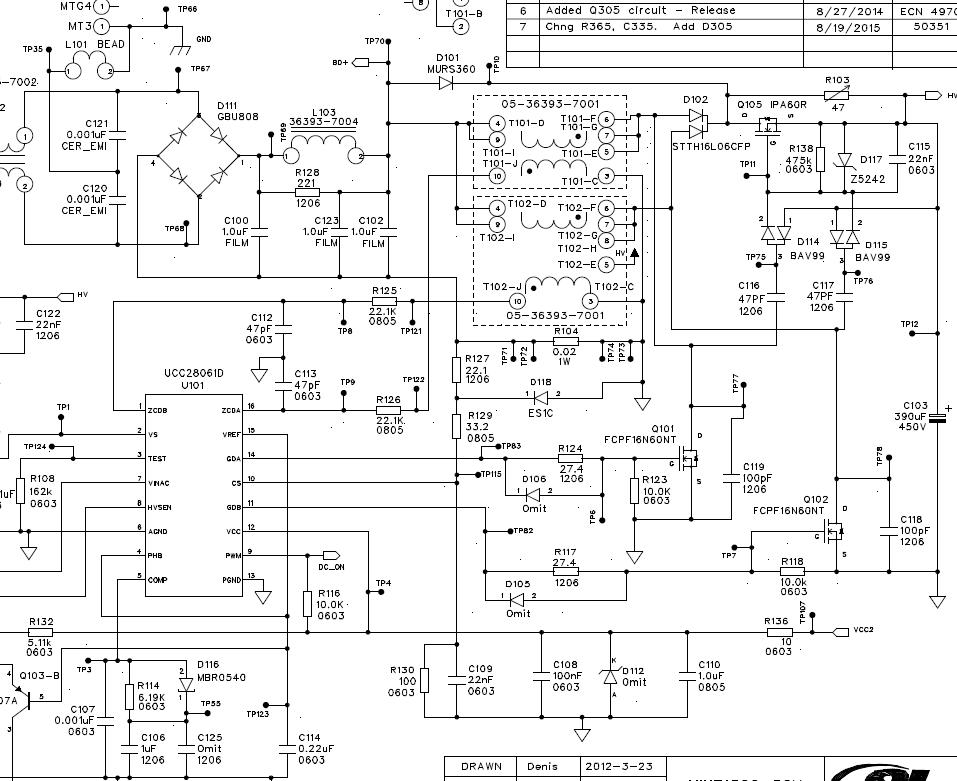 Resolved Ucc28063a Ucc28063 Ic Gate Drive Gdb B Output Failures