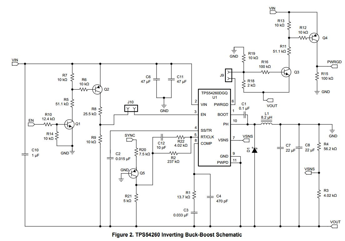 Rt Clk Level Shifting Control Circuitry Issues Tps54160 From Voltage Shifter Circuit My
