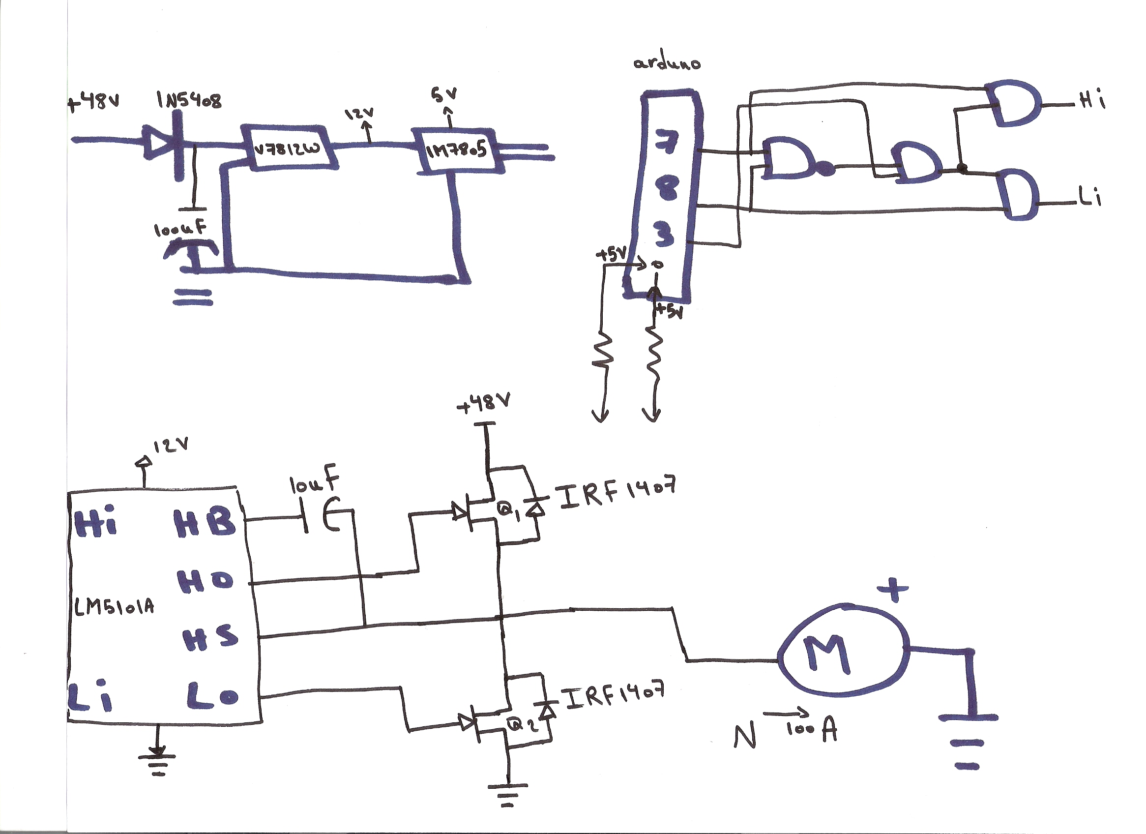 Simple Circuit Diagrams With Fruits 35 Wiring Diagram Images Electronic Components Blog Mini Trombone Sound Generator By Lm3909 5f00 Schematic Lm5101a Keeps Burning 2 Mosfet Half Bridge