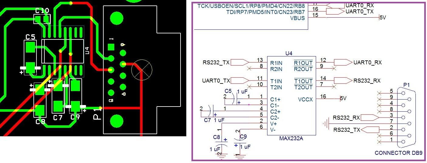 MAX232 overheat problem - RS-232 Forum - RS-232 - TI E2E