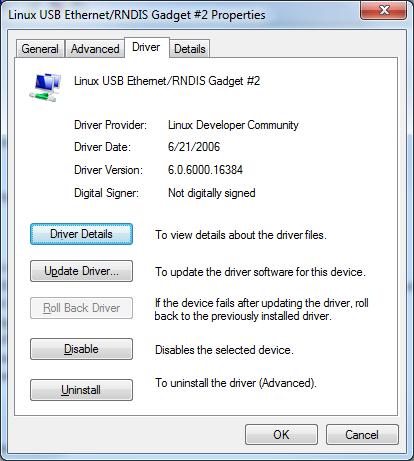 linux rndis drivers