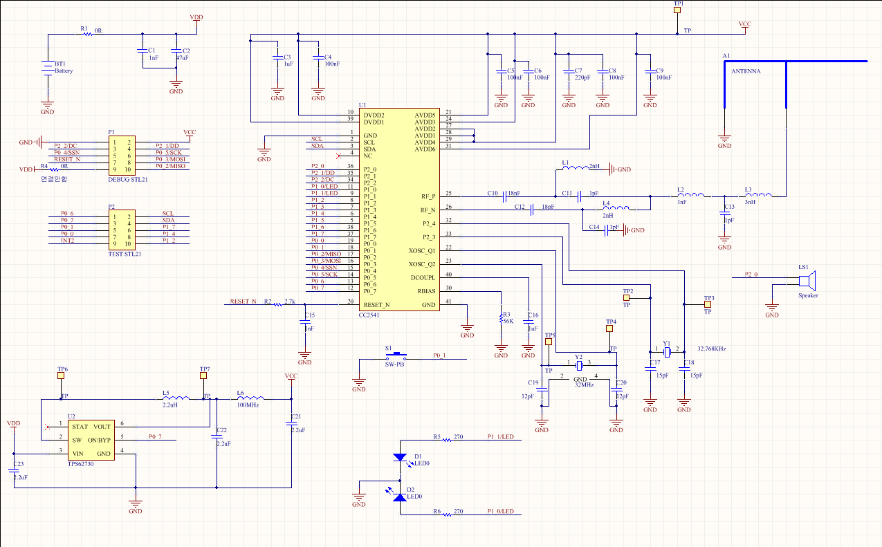 Cc2541 Schematic Review Bluetooth Forum Ti E2e Latest Circuit Design Buy Could You The