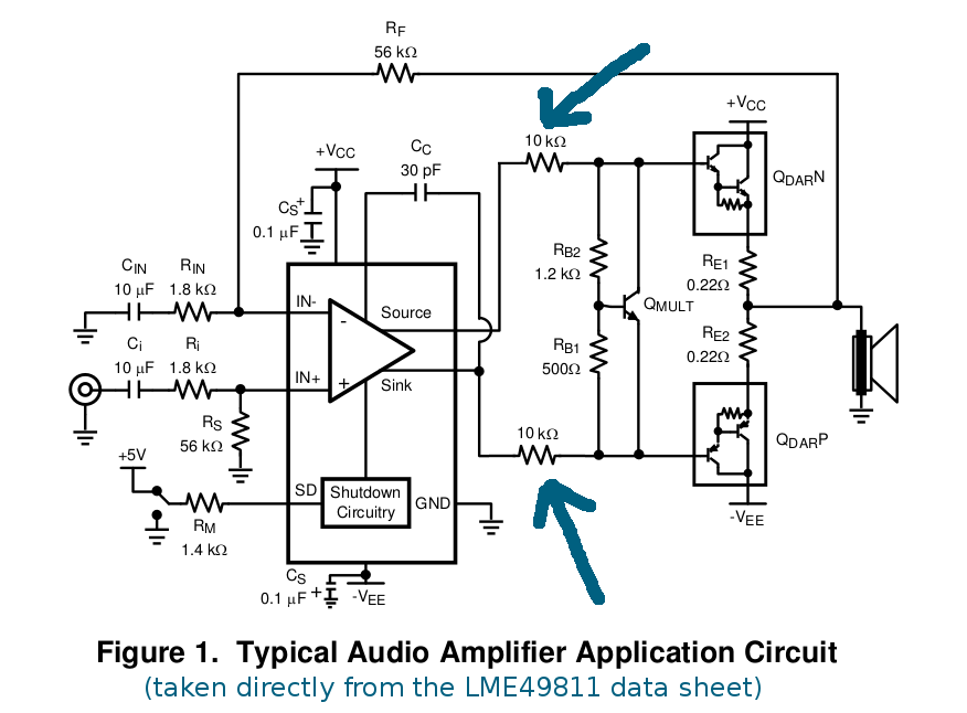 resolved  lme49811 internal diagrams  - audio amplifiers forum - audio amplifiers