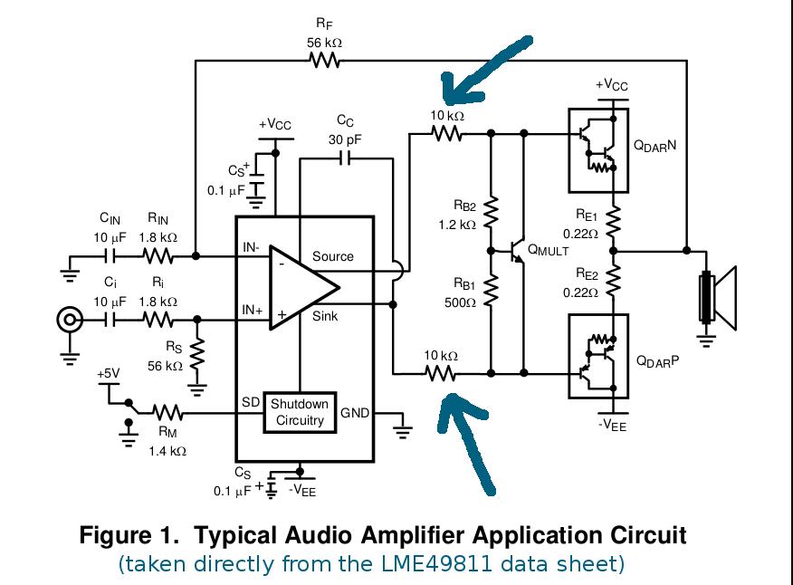 resolved  lme49811 internal diagrams  - audio forum - audio