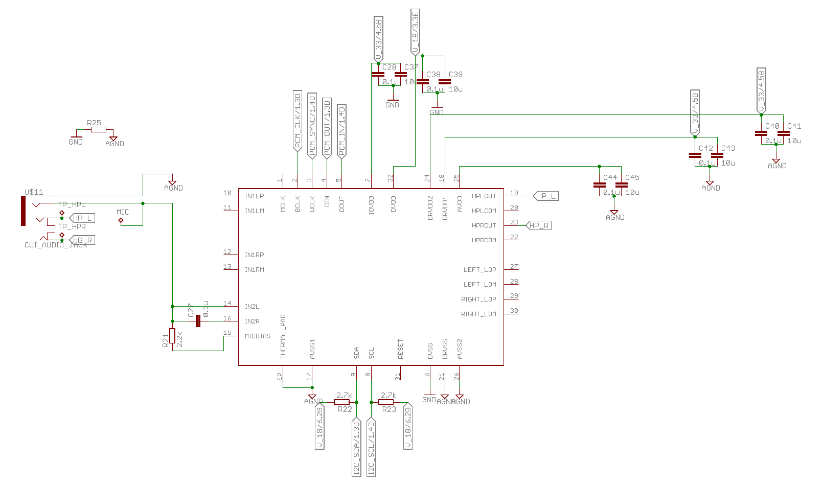 Resolved Tlv320aic3104 Q1 Cellular Stereo Headset Connection Right With Microphone Diagram Further Wiring My First Question Is Have I Got The Jack Connections Do You See Any Possible Problems There