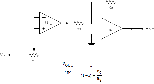 resolved  digital potentiometer with lm386