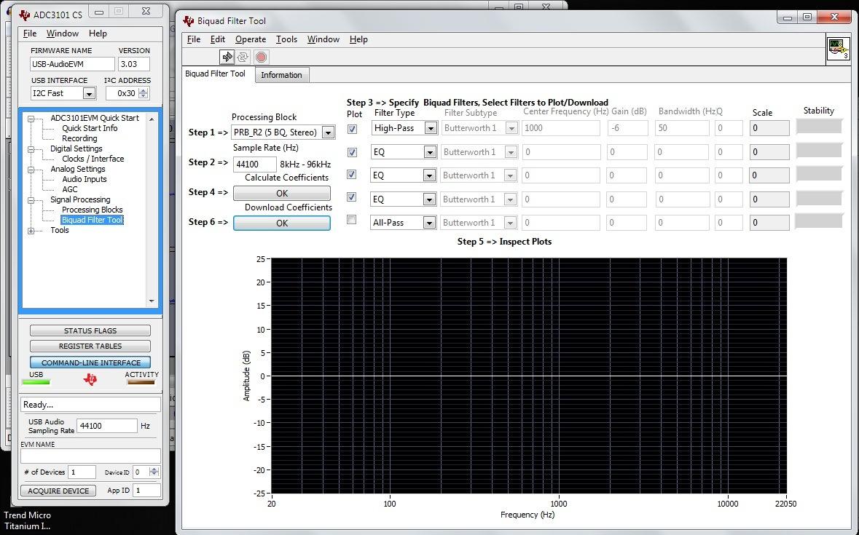 Resolved] TLV320AD3101 GUI issue - Audio forum - Audio - TI E2E