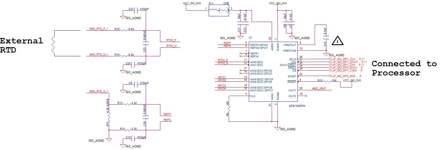 rtd measurement using ads1248 accuracy issues during run precision data converters