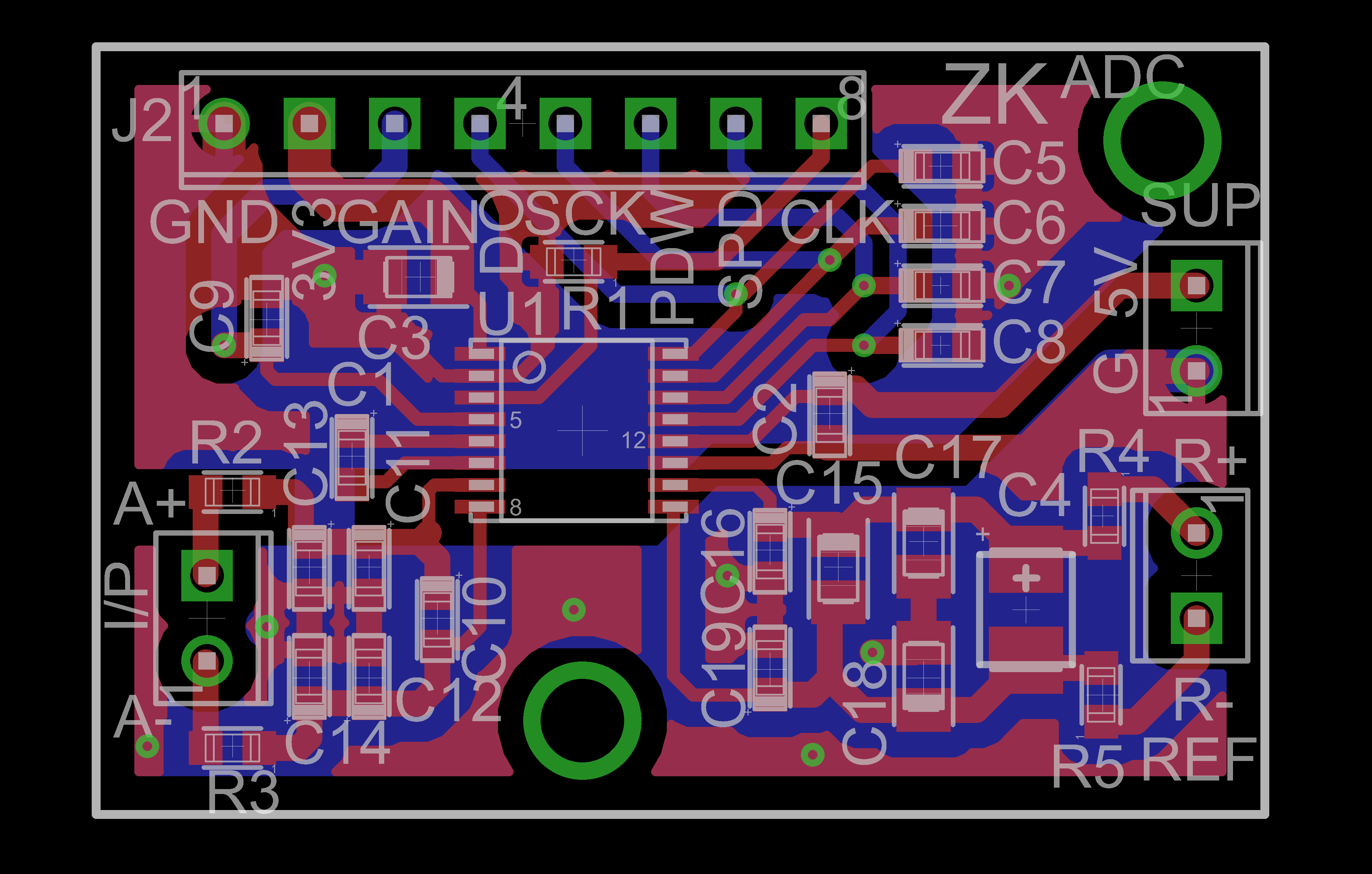 Snap Pcb Design Support And Layout From Precision Camsoftware Circuitcam V7 Verification Required For Adc Ads1230 Data Converters Forum