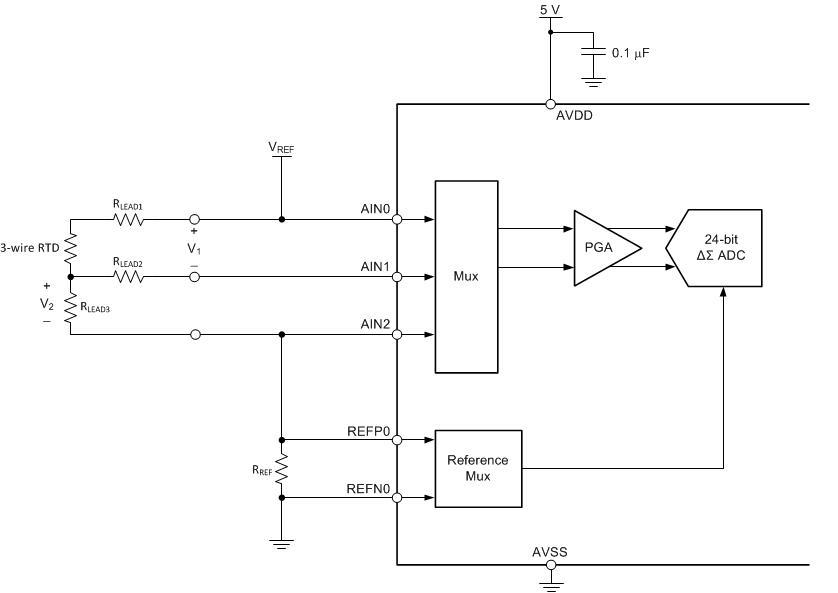 3 Wire Pt100 Temperature Sensor Circuit Diagram Heat   Jzgreentown.com