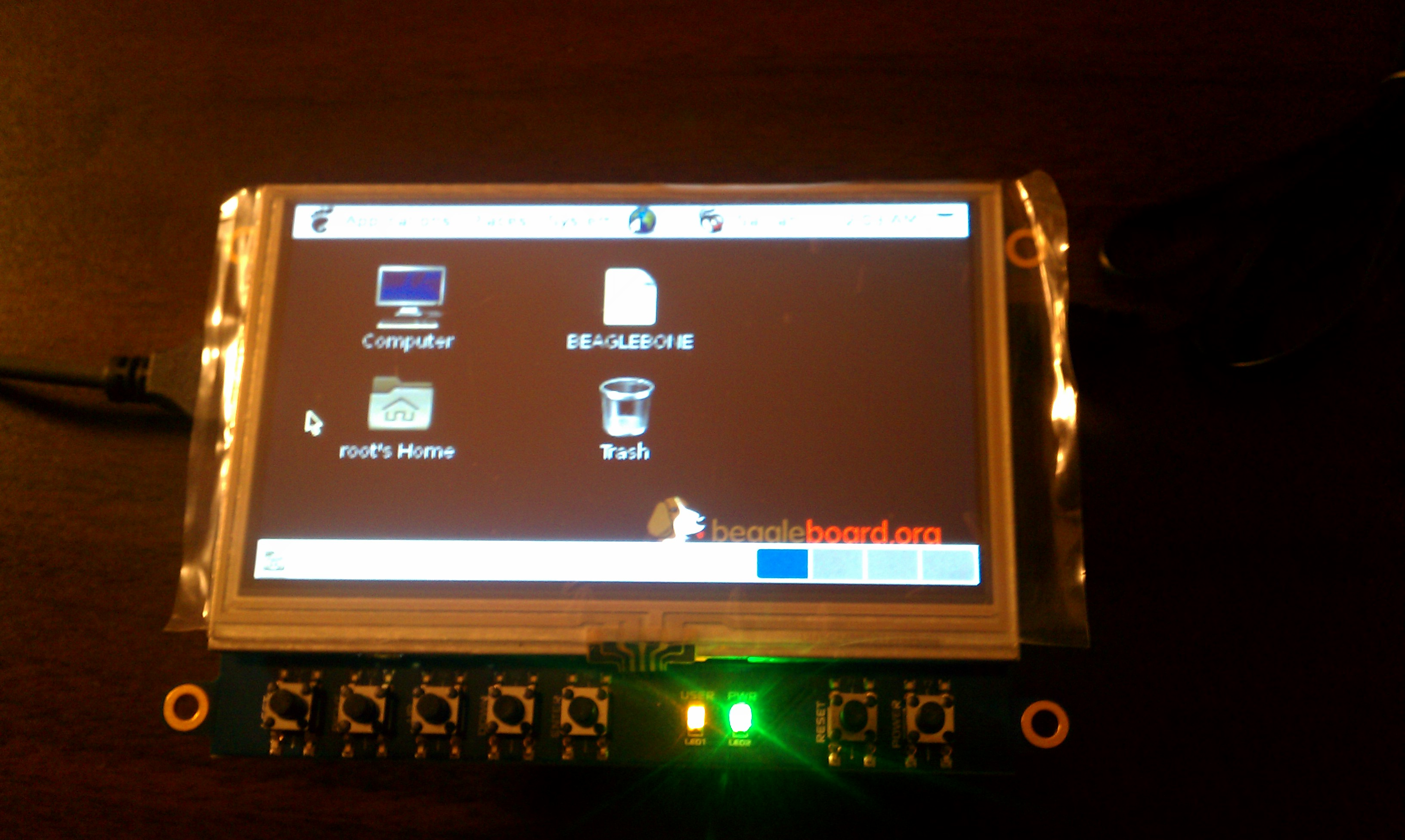 Boot android on beaglebone black from SD card - Processors