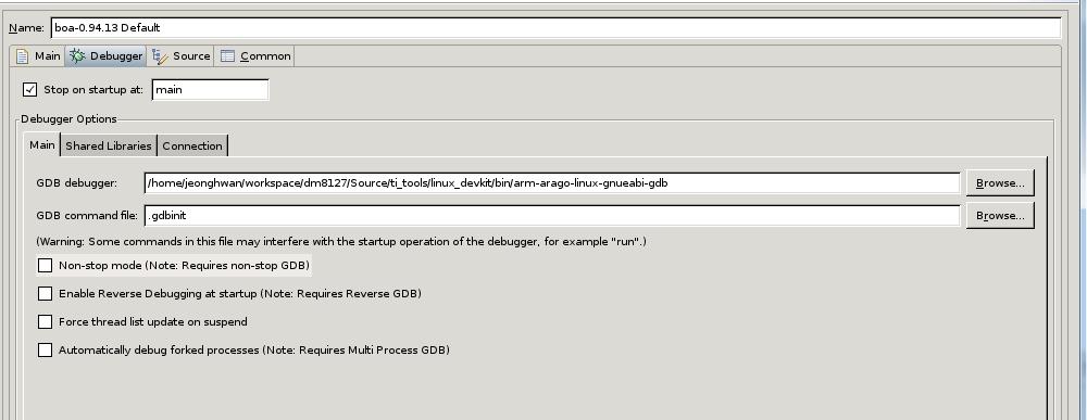 Resolved] About DM8127 Boa webserver debugging - Code