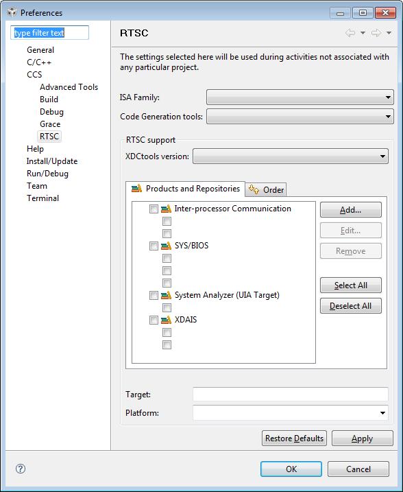 Error Log: [Resolved] CCSv4.4.2 On Windows 7