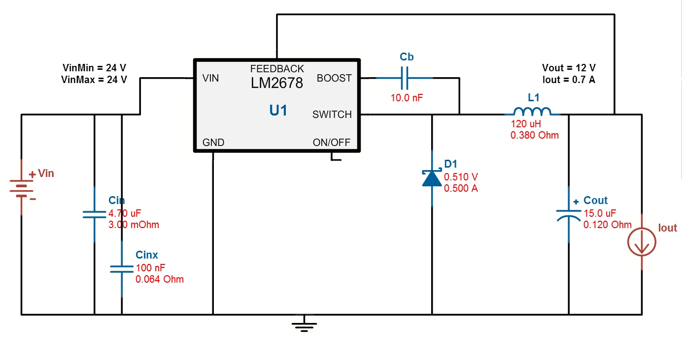 resolved] lm2678 12 voltage drops under load power managementplease take a look at the attached design schematic