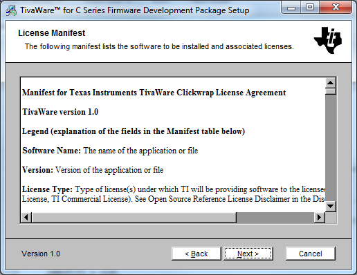 Tivaware Clickwrap License Agreement Shows Up With Blank Software