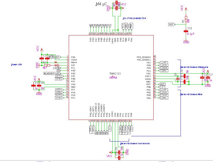 Resolved] Standard schematic for Cortex M4 - TM4C Microcontrollers