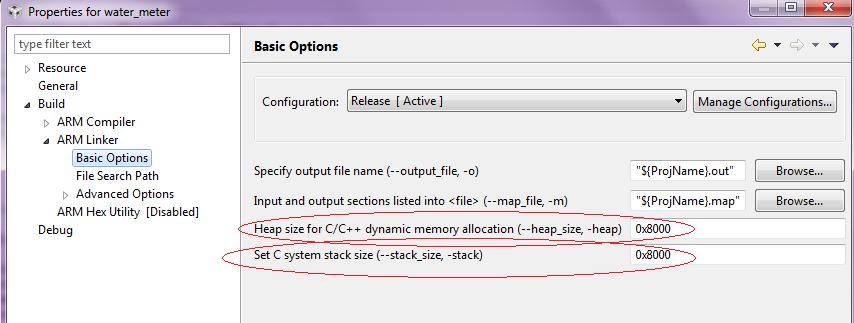 FreeRTOS stack size in CCS V6 - SimpleLink™ WiFi CC31xx/CC32xx ...