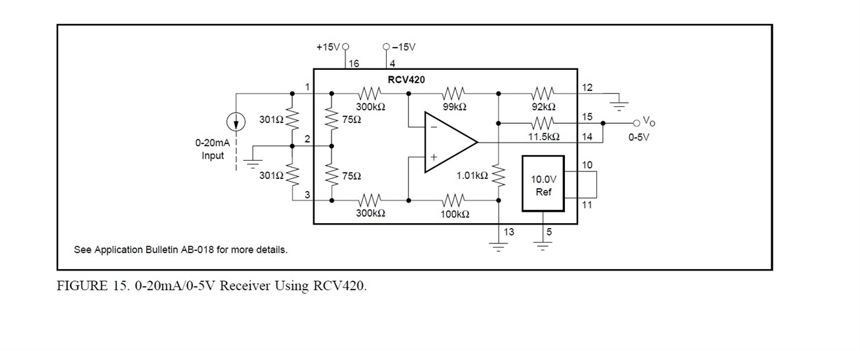 resolved  rcv420  rcv420 - output reading negative - precision amplifiers forum
