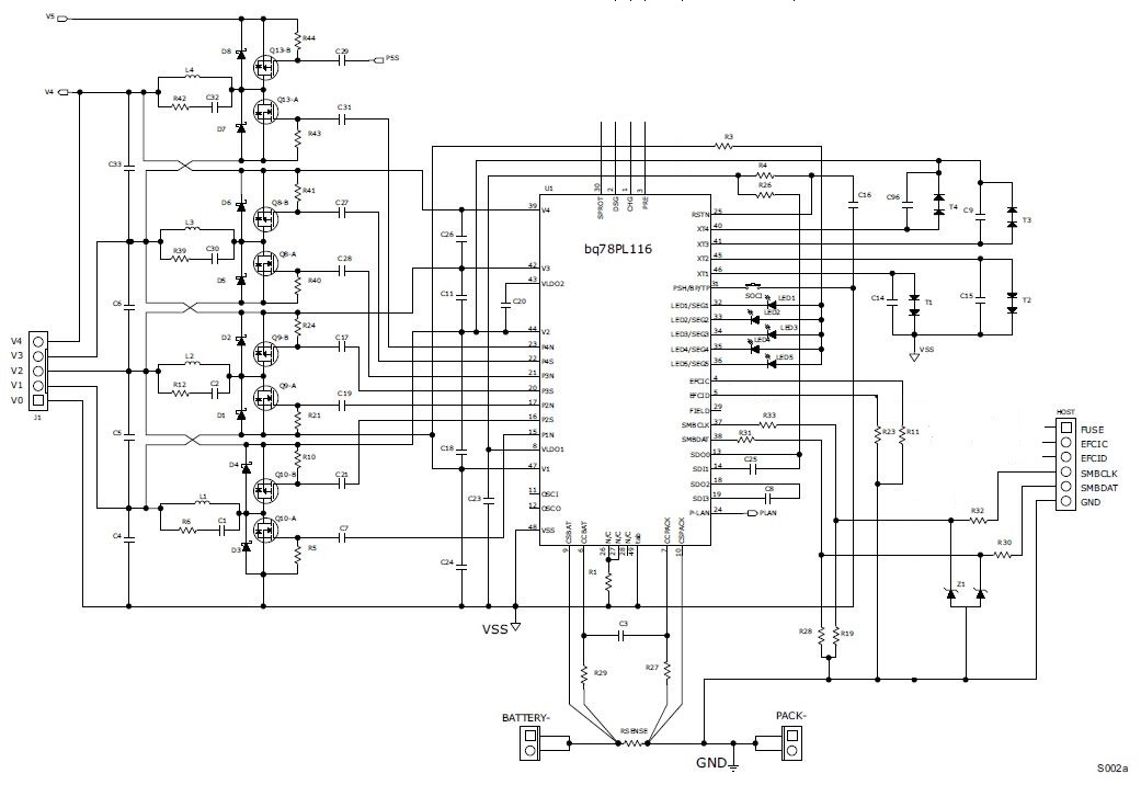 Bms Circuit Diagram furthermore Multi Cell Li Ion Charger together with Separating Lithium Ion Cells For Charging furthermore Lithium Charging together with Is There Way To Construct An 18650 Battery Pack With Built In Balance Charging. on battery cell balancing ic