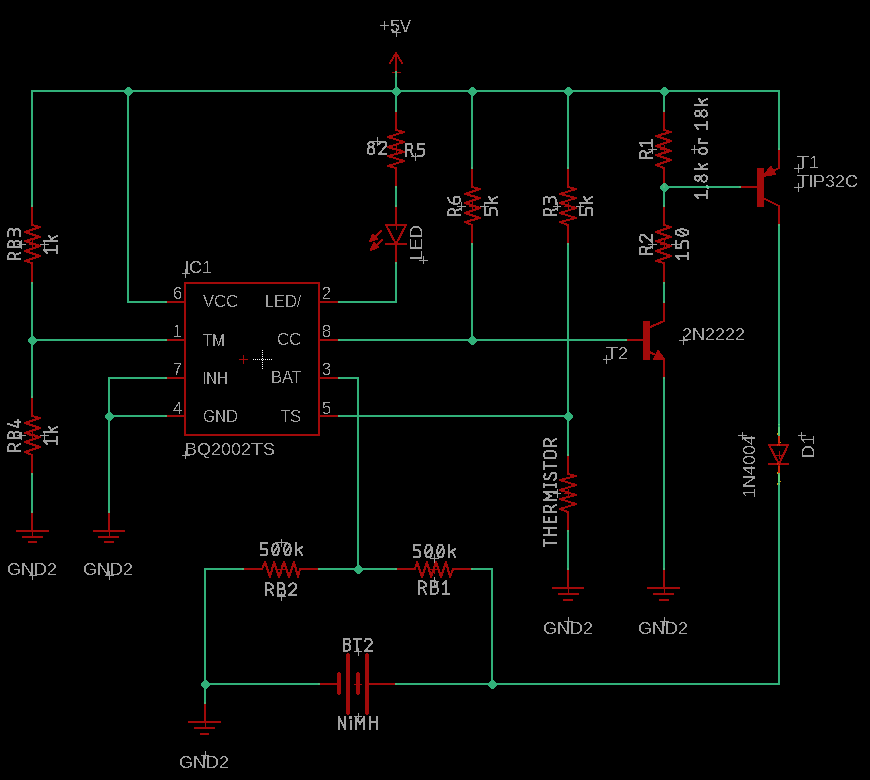 BQ2002 NiMH charging circuit not delivering enough current ... on 24vdc 40 amp controller charger schematic, usb charger schematic, lithium charger schematic, lipo charger schematic, 12 volt fence charger schematic, car charger schematic, nicad charger schematic, cell charger schematic, solar charger schematic, battery charger schematic,
